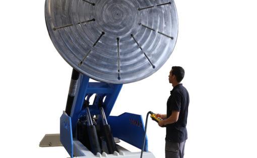 Nueva fabricación especial del posicionador PV-15000 con inclinación del plato desde 0º a 135º