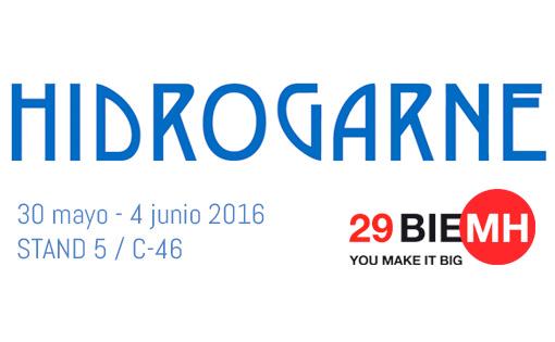 HIDROGARNE en la BIEMH, Bienal Española de Máquina – Herramienta, del 30 de Mayo al 4 de Junio