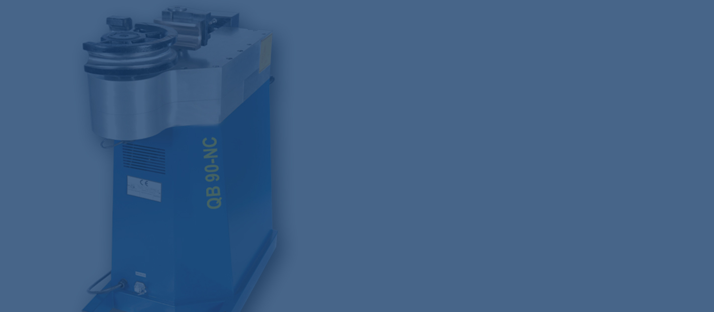 Biegemaschinen QB 90-NC - Biegekapazität bis 90 mm